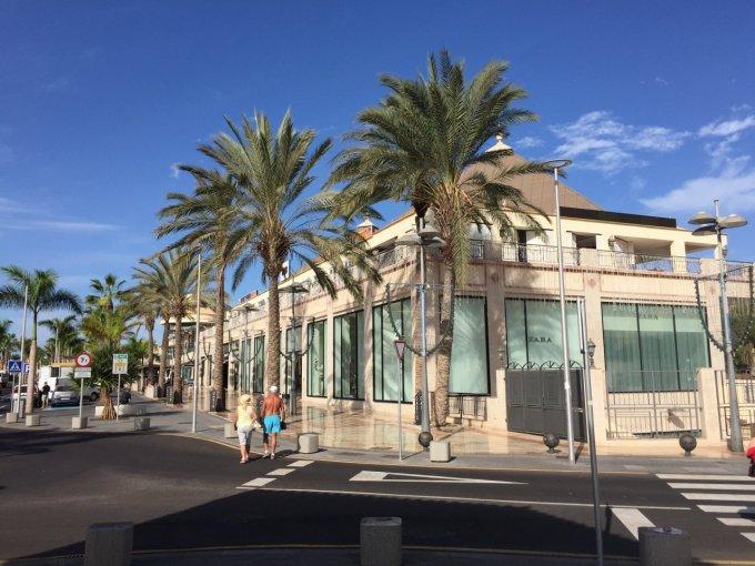 Local in Playa de Las Americas, Tenerife