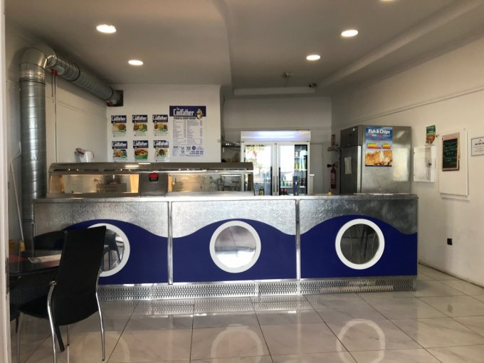 Fish & Chip shop in San Eugenio, Tenerife