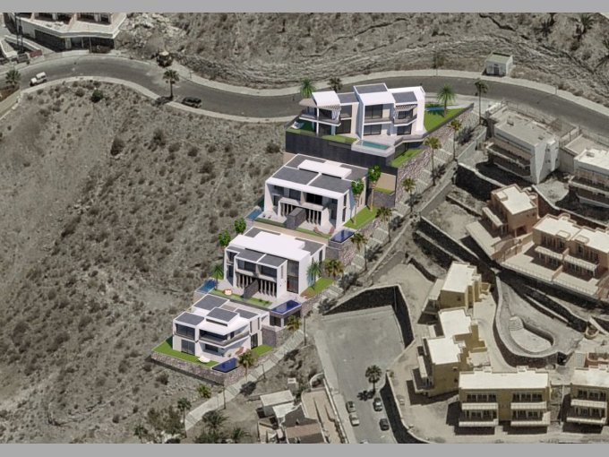New Development 6 Villas in San Eugenio Alto, Tenerife