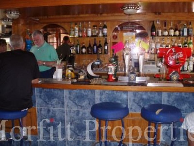 British Bar in Los Cristianos, Tenerife