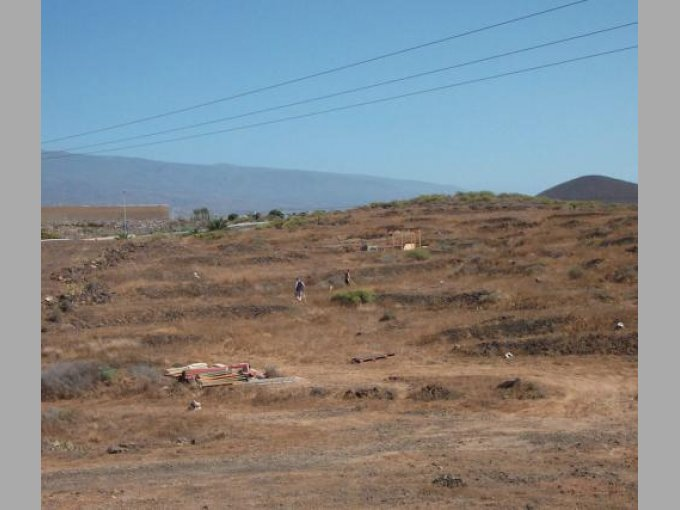 Rustic Land in El Medano, Tenerife